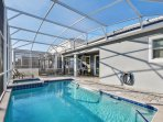 holiday rentals near disney orlando private pool and high chairs