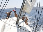 Would you like to go sailing  & discover the private bays around Poros? Join us on our private boat