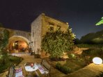 Enjoy the stars spread over the sky from the villa