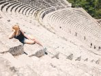 Visit the Ancient Theatre of Epidavros (a UNESCO Heritage Site) and marvel at its perfect acoustics