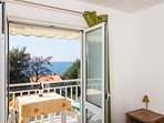 Apartments Villa Ana - One Bedroom Apartment with Balcony and Sea View (Apt 2)