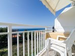 Apartments Villa Ana - One Bedroom Apartment with Balcony and Sea View (Apt 3)