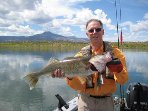 There are many things to do in Abiquiu.  Fish from the shore of the home.