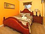 Bedroom #2(1st Floor) - Queen Bed,  HDTV