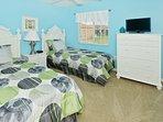 Bedroom #3 - 2 Twin Beds,  HDTV