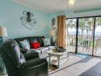 Newly renovated condo with a shabby/coastal chic decor