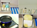 Complete cookwares for 5-6 persons in all 8 Home rental units