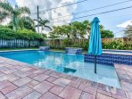 Private Pool and Hot Tub (Pool Heat Optional Add On at Time of Booking); Ample Lounging and Seating; Private Grill...