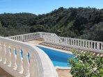 pool area with view Casa da Tranquilidade