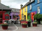 One of the many quaint beautiful streets in Kinsale