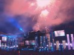 Moments from the Ultra Music Festival held at Poljud stadium, 20 min walking from the apartment