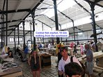 Central fish market, 10 min walking from the apartment