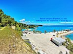 Beach Obojena Svjetlost, 12 min walking from the apartment or 3 min by car