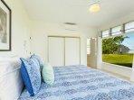 Main home: master suite, spectacular views, split air conditioning unit.