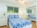 Cottage: guest room, full-size bed.