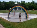Splashpad at Victoria Park