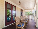 Amazing front and back porches on every level