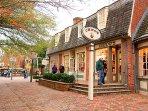 Great shopping in Colonial Williamsburg!