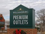Awesome outlet shopping just a few miles away!