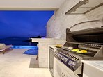 Barbecue and Wine Fridge