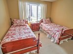 Crawl into either one of these comfortable twin-sized beds and enjoy great nights of sleep!