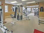 Stay in stride with your workout routine at the community fitness center.