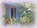Notre villa sur Uzès - la terrasse  - Gîte OLIVIA