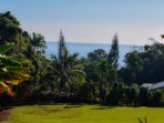 Kahawai Hale sits on an extra large 3 acre lot with an ocean view