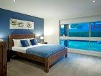 Bedroom 1 with Queen Bed, ensuite, TV
