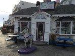 Hobby Horse Ice Cream is right across the Street