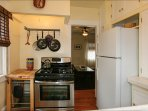 Fully Equipped Kitchen: microwave, coffee maker, blender, utensils,...
