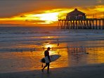 Take up surfing or paddle boarding. Enjoy breathtaking sunsets