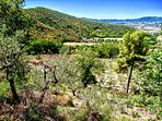 Outstanding scenery immediately surrounds the villa