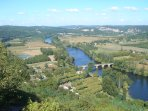 The Dordogne seen from Domme