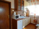 kitchen apartment for 2-3 persons