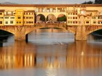The wonderful Ponte Vecchio in Florence, a must see!