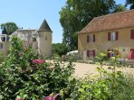 Our very spacious gîte is ideal for more than one family or a group of friends.