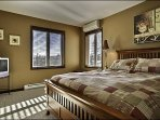 One Comfy Queen Bed is Offered in the Master En Suite