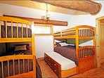 Third Bedroom Offer Two Sets of Twin Beds and a Trundle Bed