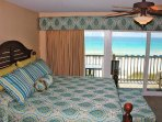 Master Bedroom w/ Private Balcony and Gulf Views