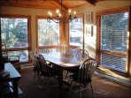 The Dining Area is Great for Gathering with your Family and Friends