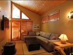 The Separate Den/Loft Area Offers you a Sleeper Sofabed