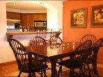 The Dining Area is Perfect for Gathering with Family and Friends