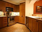 The Spacious Kitchen for All of your Needs During your Stay