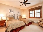 Third Bedroom Offers Two Twin Beds