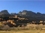 Vaujany Ski Chalets, Vaujany in Autumn