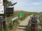 short walk to  plaice cove beach