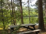 Picnic tables and grills available at Echo Lake.  Great place to spend the day.