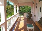 Large veranda