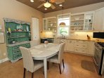 beautiful kitchen with upgrade appliances